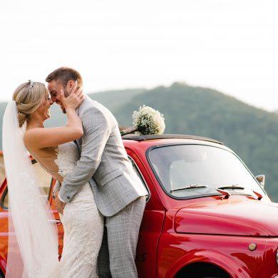 italian-car-wedding